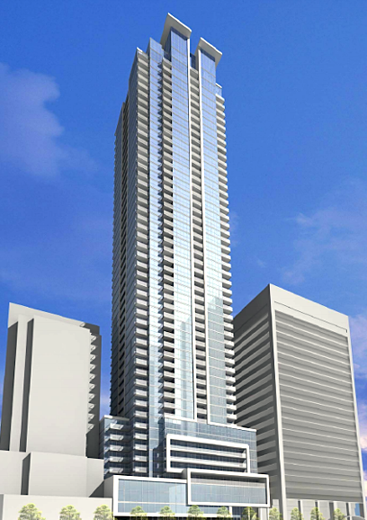 Downtown-Toronto-Condos-Rosedale-On-Bloor-Exterior-Renderring