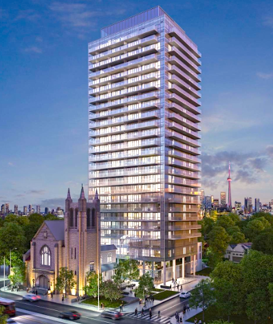 Downtown-Toronto-Homes-Blue-Diamond-Condos-Exterior-Rendering