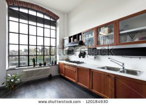 stock-photo-beautiful-house-interior-view-of-the-kitchen-120184930
